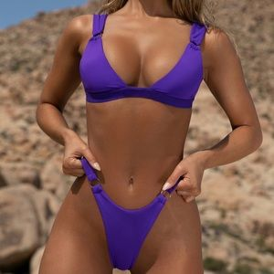 Oh Polly purple bikini